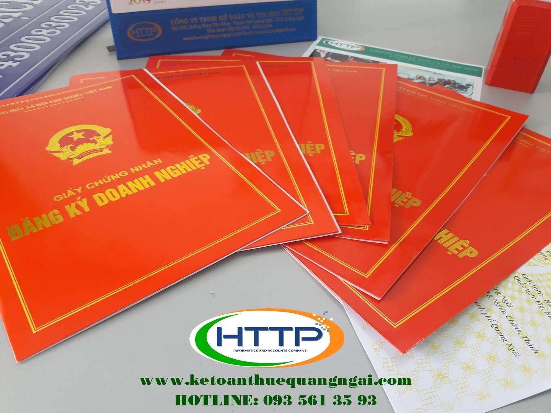 Dịch vụ thành lập doanh nghiệp trọn gói tại Quảng Ngãi