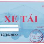 Quy định mới về gắn phù hiệu xe tải 2018, thủ tục xin cấp phù hiệu cho xe tải chuẩn nhất