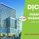 Dịch vụ thành lập chi nhánh tại Quảng Ngãi
