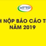 Lịch nộp các loại báo cáo thuế cho năm 2019