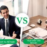 So sánh lợi ích dịch vụ kế toán và tuyển kế toán