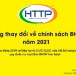 Những thay đổi về chính sách BHXH năm 2021